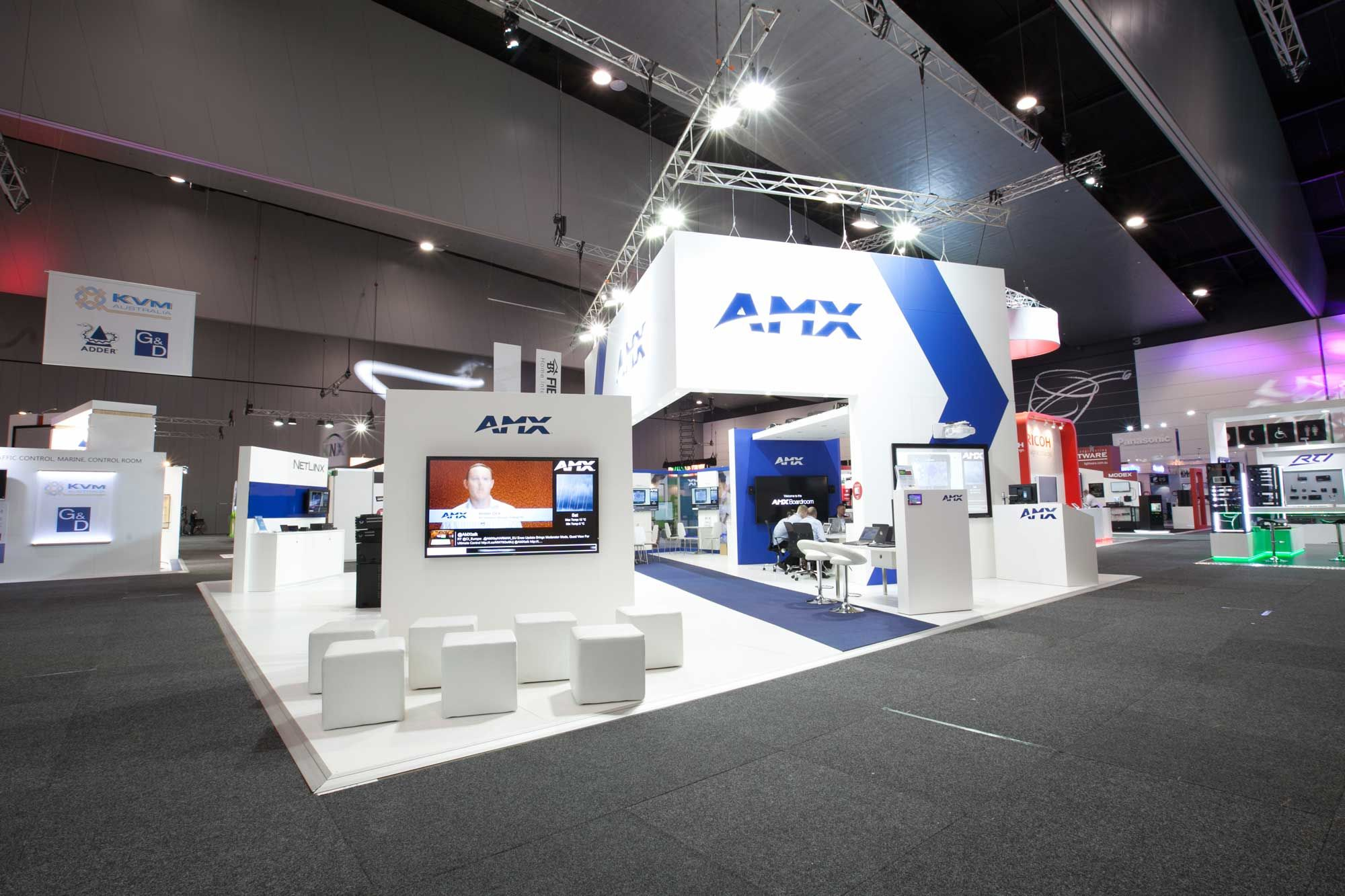 Exhibition Stand Design Sydney : Australian exhibition display stand manufacturer